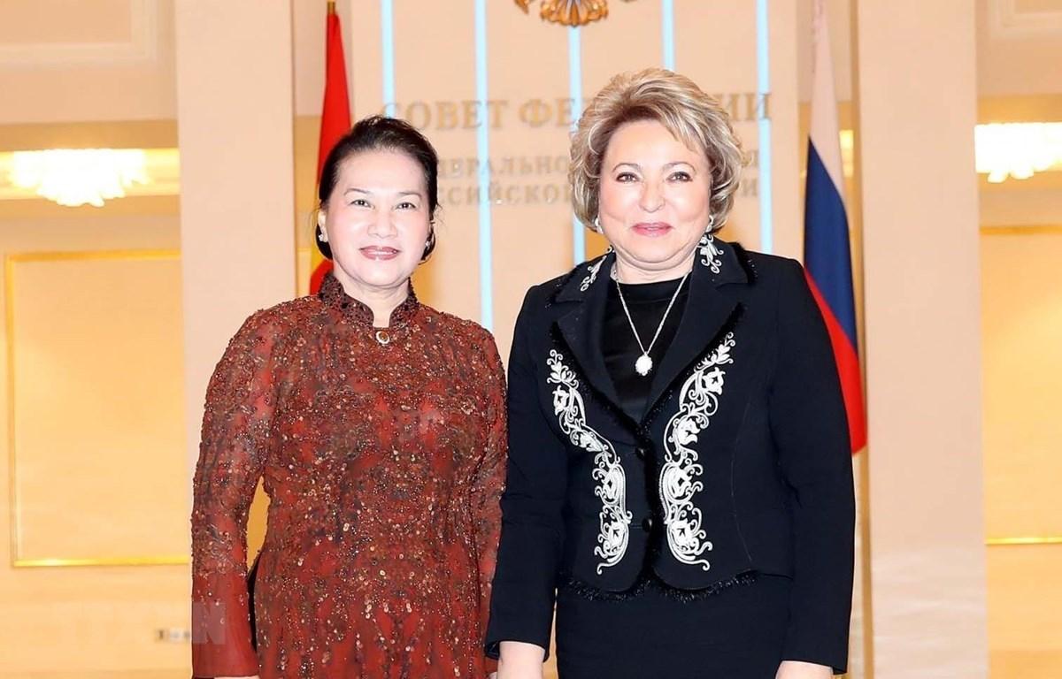 Chủ tịch Quốc hội,Nguyễn Thị Kim Ngân,Việt-Nga