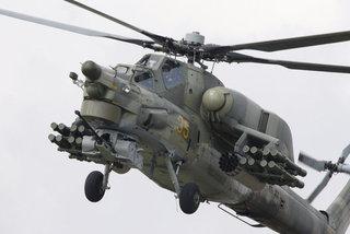 Trực thăng quân sự rơi ở Nga, hai phi công thiệt mạng