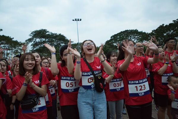 'Run for the Earth' quyên góp 2.579 cây xanh