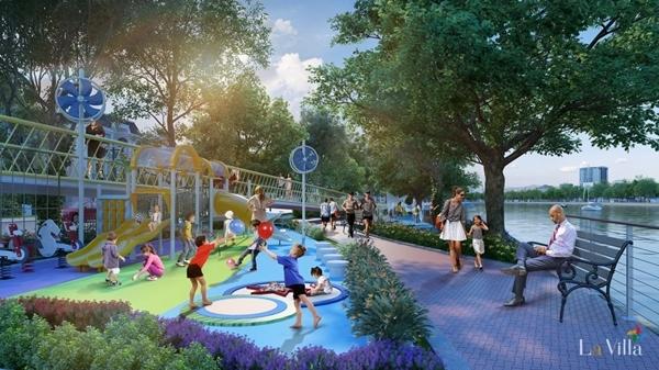 Sống nghỉ dưỡng mỗi ngày trong thành phố xanh tại Lavilla Green City ảnh 2