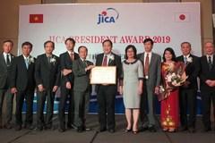 Can Tho University receives JICA President Award 2019
