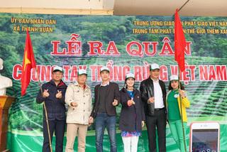 Thêm hàng vạn cây phủ xanh 3 tỉnh miền Trung