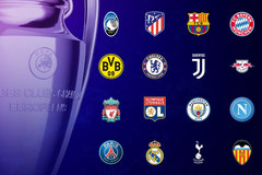 Xác định 16 đội vào vòng knock-out Champions League
