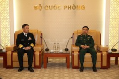 Chief of General Staff receives Japan's Maritime Self-Defence Force Commander