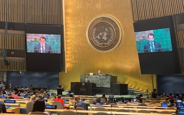 Pham Hai Anh,maritime disputes,UN Convention on the Law of the Sea,UN General Assembly,74th session,legal processes,East Sea,Code of Conduct in the East Sea