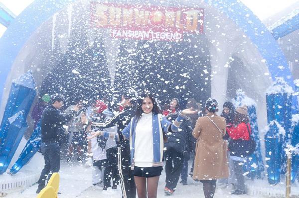 Ngắm 'hoa băng' kỳ thú trên đỉnh Fansipan