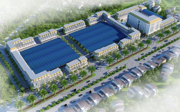 Nghệ An: Khởi công Trung tâm thương mại kết hợp chợ 330 tỷ đồng