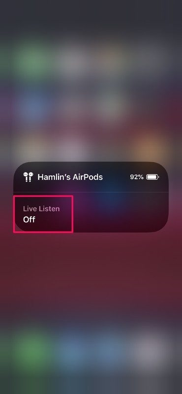 Cách biến tai nghe AirPods thành máy trợ thính