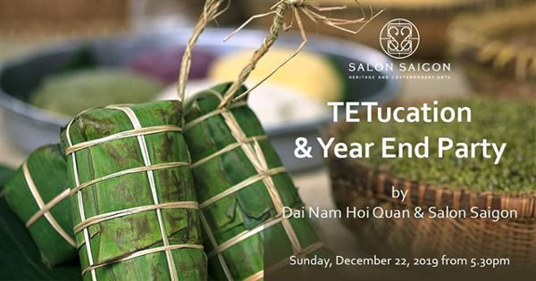 Talk show about Tet in the south at Salon Saigon