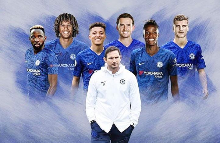 Chelsea,Frabk Lampard,Wilfried Zaha,Jadon Sancho