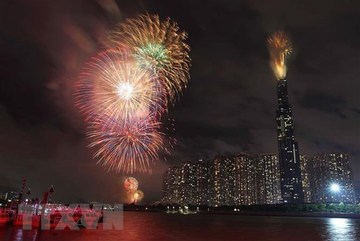HCM City to set off fireworks to welcome New Year