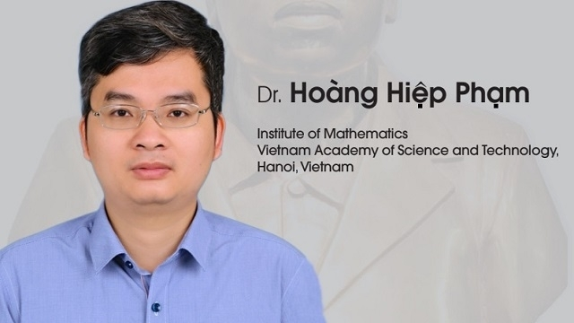 Vietnamese professor honoured with international prestigious math prize