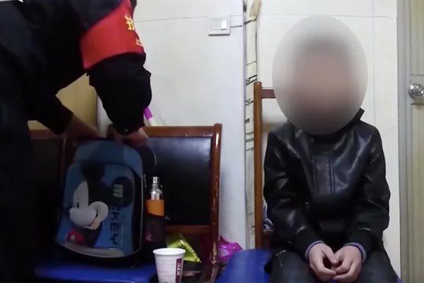 Trung Quốc,phạt con,chuyện hy hữu,bắt trẻ đi ăn xin