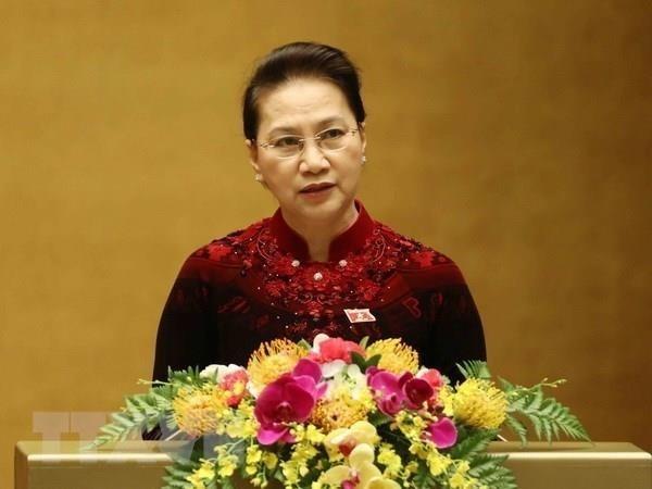 Vietnam's top legislator begins official visit to Belarus