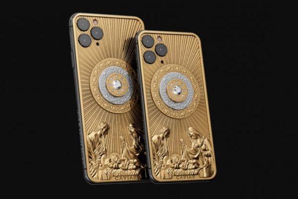 iPhone 11 Pro khắc Chúa Jesus được bán giá 129.000 USD
