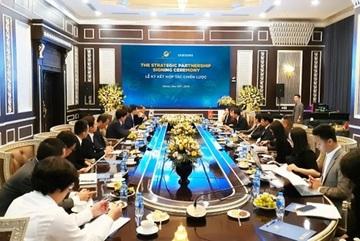 Sunshine Group hợp tác Samsung nâng tầm bất động sản Việt