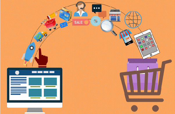E-commerce startups sell associated services as well as products