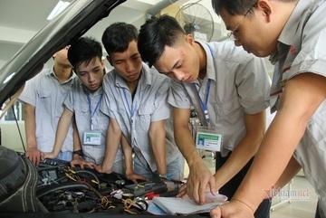 Điểm chuẩn vào ĐH Công nghiệp Hà Nội trong 2 năm qua