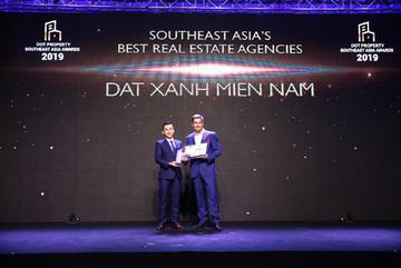 Đất Xanh Miền Nam nhận giải Đơn vị phân phối BĐS tốt nhất Đông Nam Á