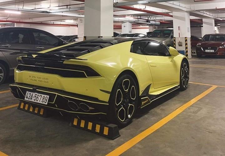 Siêu xe Lamborghini Huracan cũ đeo 'biển khủng' rao giá hơn chục tỷ