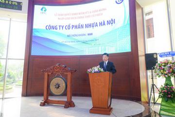 Nhựa Hà Nội chính thức niêm yết sàn HoSE