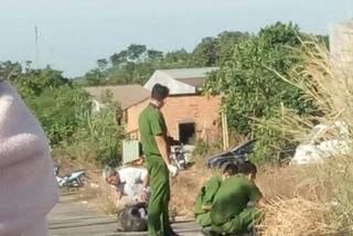 Chủ quán ăn ở Bình Phước bốc cháy như đuốc giữa ngã ba đường