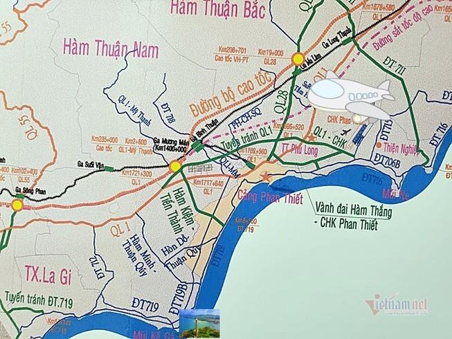 Bình Thuận xây dựng hàng loạt đường mới kết nối cao tốc Phan Thiết-Dầu Giây