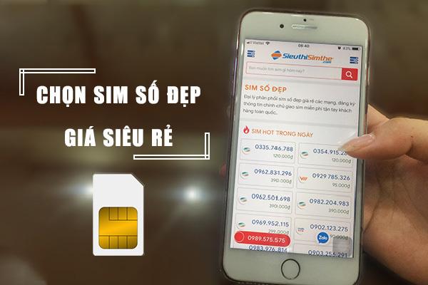 Thủ thuật mua sim online số đẹp, rẻ, an toàn