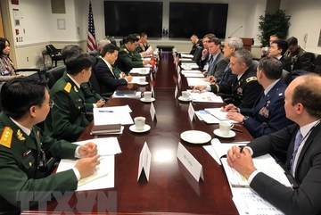 Vietnam, US hold defence policy dialogue