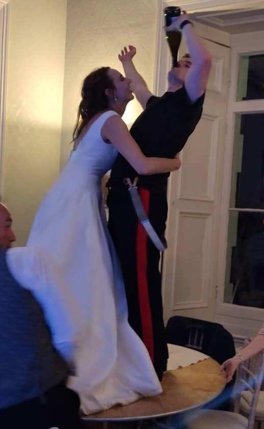 Cặp đôi ly hôn ngay trong đám cưới