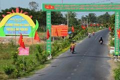 Chương trình nông thôn mới về đích trước hạn