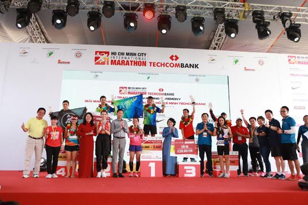 Thông điệp ý nghĩa của giải Marathon Quốc tế TP.HCM Techcombank 2019