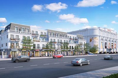 Ra mắt tổ hợp nhà phố thương mại đẳng cấp đầu tiên ở Mỹ Tho
