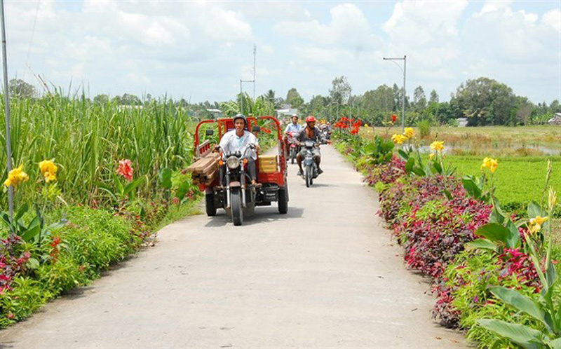 Vĩnh Phúc, 'trái ngọt' 10 năm xây dựng nông thôn mới
