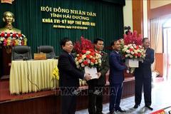 Bầu bổ sung Phó chủ tịch UBND 2 tỉnh Thái Bình, Hải Dương