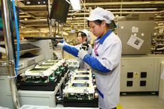 Vĩnh Phúc: 9 tháng đầu năm, công nghiệp hỗ trợ điện, điện tử góp ngân sách hơn 914 tỷ đồng