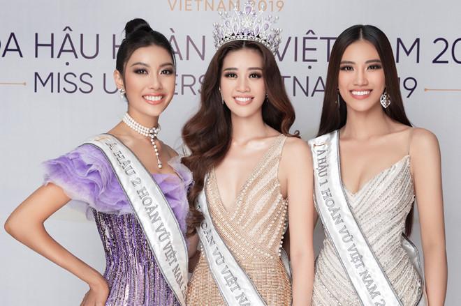 Giao lưu trực tuyến cùng Top 3 HH Hoàn vũ Việt Nam
