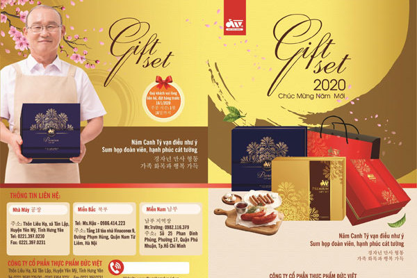 Set quà hấp dẫn cho Tết Canh Tý 2020