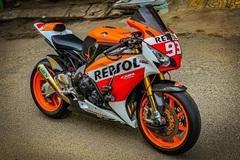 Honda CBR1000RR lột xác với trang bị thửa từ xe đua MotoGP