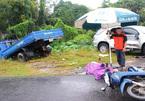 3 cha con ở Quảng Nam bị xe tải đâm trúng, 1 người chết