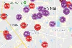 Không khí Hà Nội ở ngưỡng rất có hại ngày thứ 7 liên tiếp