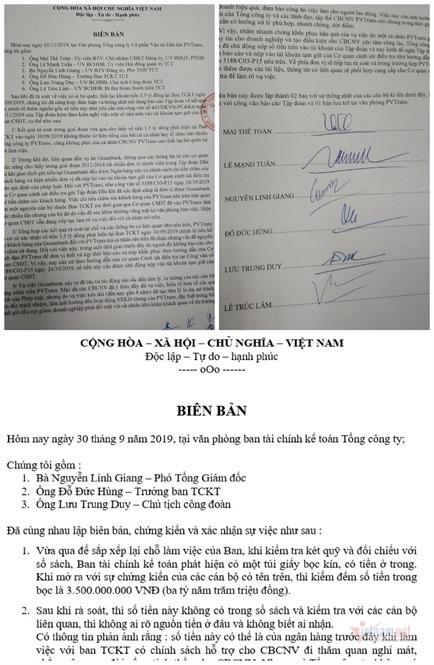 Tiết lộ khoản tiền 3,5 tỷ đồng 'bỏ quên' trong két sắt của PVTrans