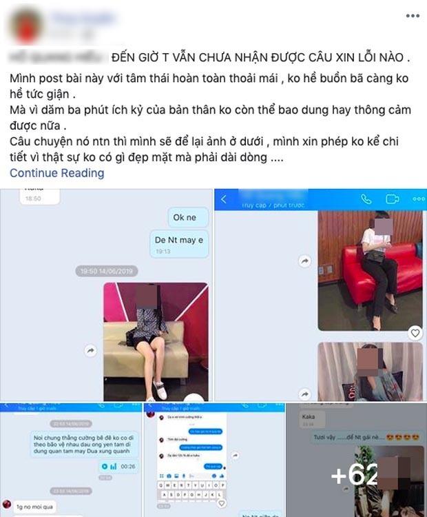Chàng trai lạ mặt tự nhận mình là 'Hồ Quang Hiếu' trong scandal hiếp dâm