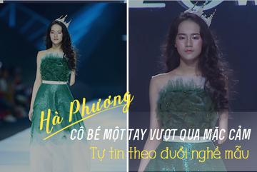 Thiếu nữ Hà Nội vượt mặc cảm hình thể, tự tin theo đuổi nghề mẫu