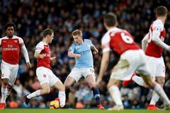 Arsenal vs Man City: Khách bắt nạt chủ