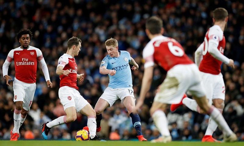Nhận định Bong đa Arsenal Vs Man City Vong 17 Ngoại Hạng Anh