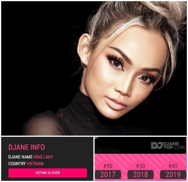 Cường Đô la,Top 100 DJ,Võ Hoàng Yến