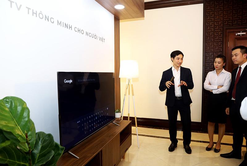 VinSmart ra mắt 5 mẫu TV thông minh đầu tiên