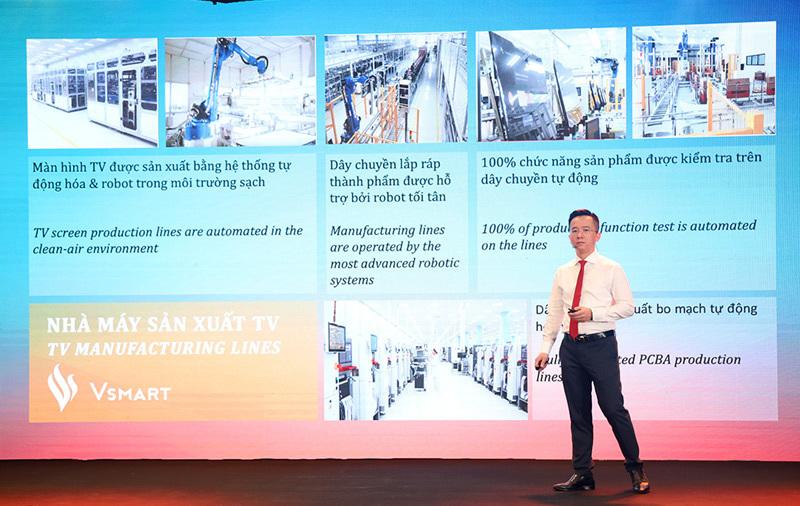 VinSmart ra mắt 5 mẫu Tivi thông minh đầu tiên