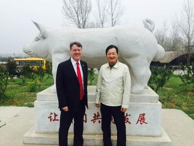 Tỷ phú Trung Quốc,thịt lợn,Trung Quốc,khủng hoảng thịt lợn